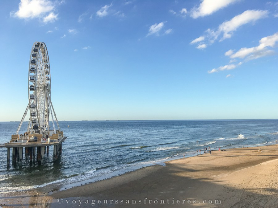 The ferris wheel at the Scheveningen beach - The Hague, Netherlands