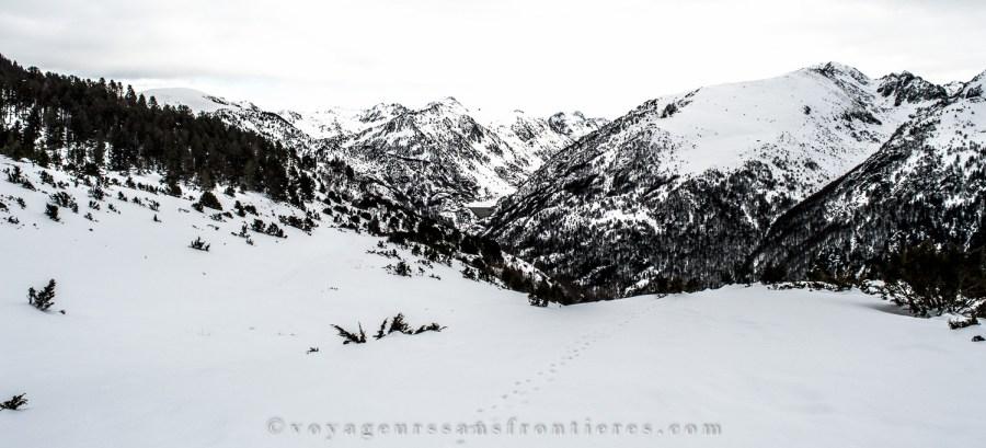 Massif de l'Aston dans les Pyrénées - Plateau de Beille, France