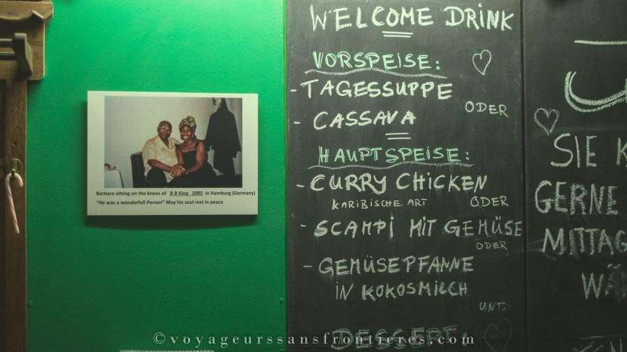 À l'intérieur du restaurant Ya-Man - Berlin, Allemagne