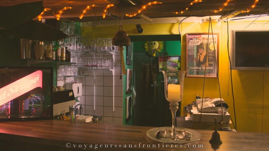 Le bar du restaurant Ya-Man - Berlin, Allemagne