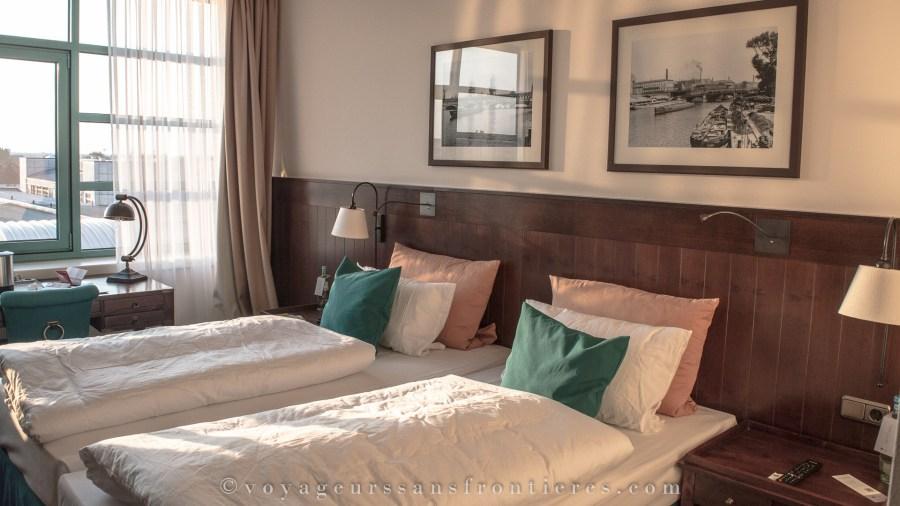 Notre chambre à l'hôtel Ameron Abion - Berlin, Allemagne
