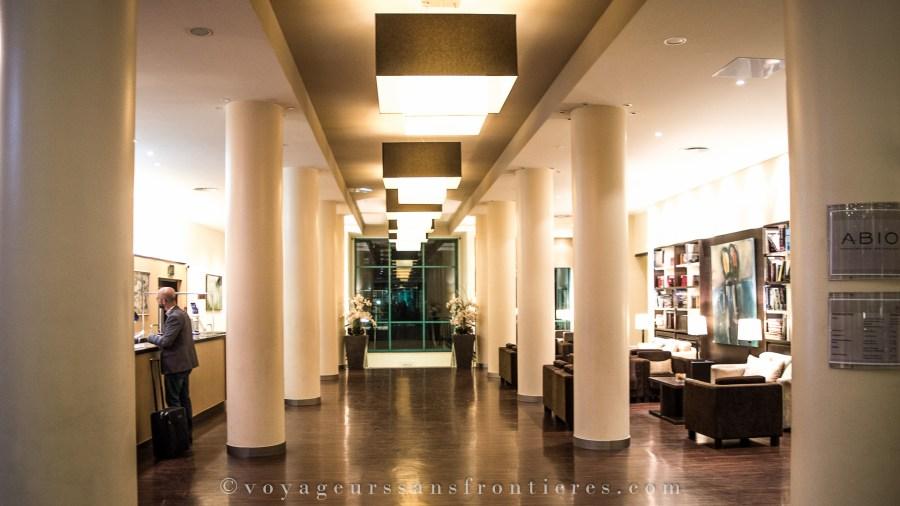Le lobby de l'hôtel Ameron Abion - Berlin, Allemagne