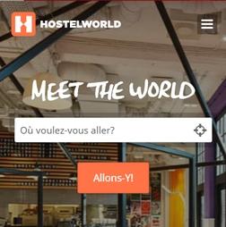 Hostelworld recherche - Voyageurs Sans Frontieres