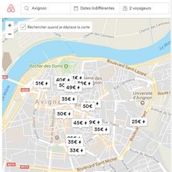 Recherche Airbnb Avignon - Voyageurs Sans Frontières