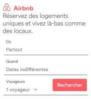 Recherche Airbnb - Voyageurs Sans Frontières