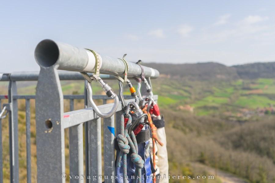 Saut à l'élastique avec Antipodes sports nature - Aveyron, France