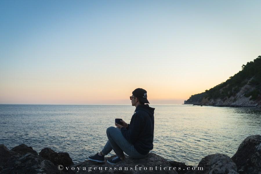 Réveil en douceur au Port de Valldemossa - Majorque, Baléares
