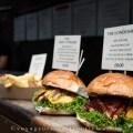 Burgers à Borough Market - Londres, Angleterre