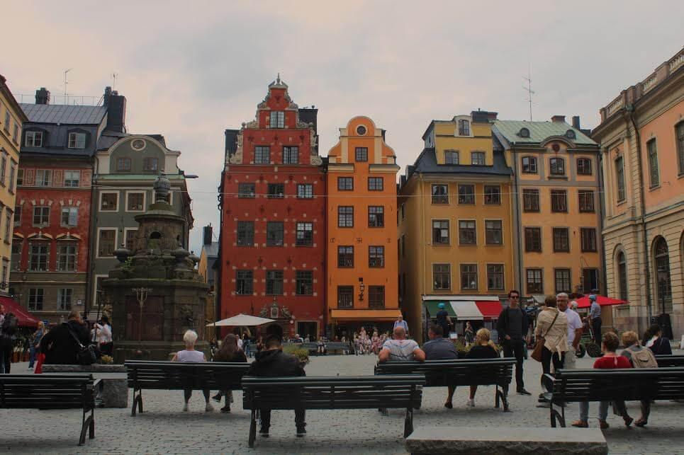 ταξίδι στην πρωτεύουσα της Σουηδίας, τη Στοκχόλμη