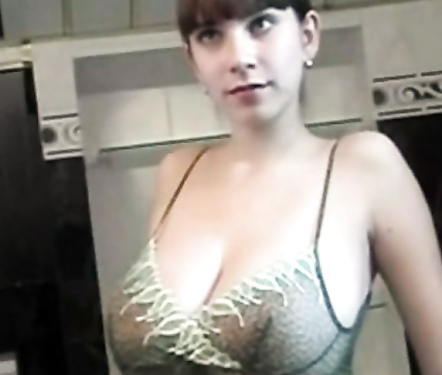 Poland Amateur With Giant Natural Tits Poses For Photos