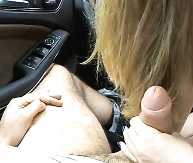 Car Blowjob From My Beautiful Girlfriend