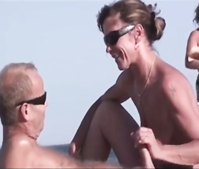 Nude Beach Blowjobs And Hardcore Sex With French Couples