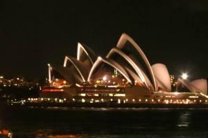 Sydney Opera House de Noche