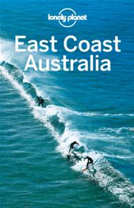 El Libro Lonely Planet de la Costa Este Australia que incluye los Estados de Queensland y New South Wales.
