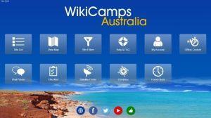 """""""WikiCamps"""" la puedes encontrar para Iphone o Android."""