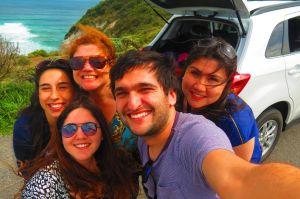 Mi grupo de viajeros chilenos y el viaje a la Great Ocean Road, por el Estado de Victoria
