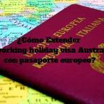 Como extender Working Holiday Visa Australia