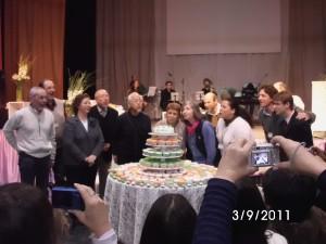 Celebracion de los 15 años de EIRENE