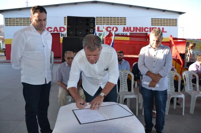 Obras hídricas da SARA vão beneficiar mais de 800 pessoas em Brejinho