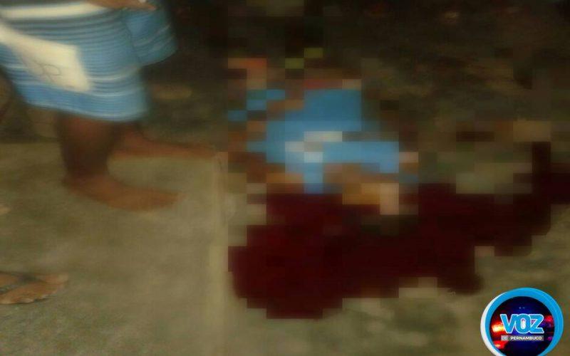Jovem é baleado na cabeça em Carpina e é socorrido para o HR