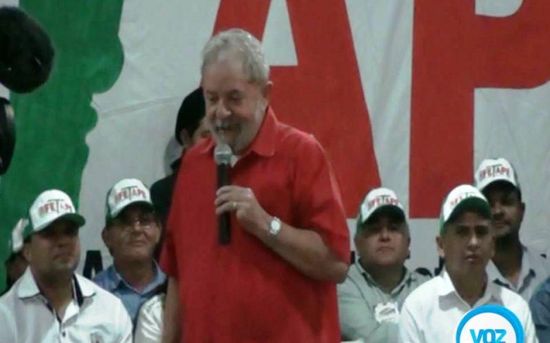 Carpina: Lula faz criticas a imprensa, homenagem a Manoel Santos e pede pressão em senadores