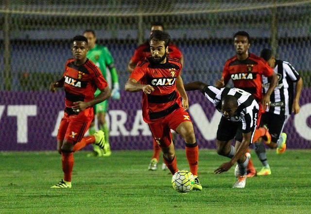 Fora de casa, Sport têm sequência interrompida e perde para Botafogo