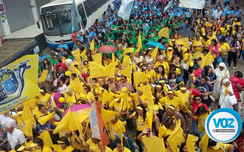 Diocese de Nazaré da Mata celebra Jubileu dos Catequistas em Machados-PE