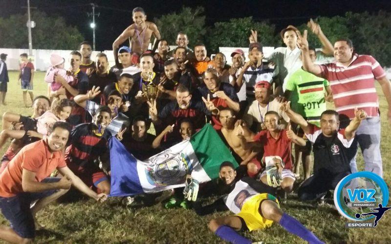 Lagoa do Carro é tricampeã dos Jogos Abertos de Pernambuco