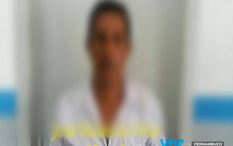 Acusado de homicídio foi preso em Carpina