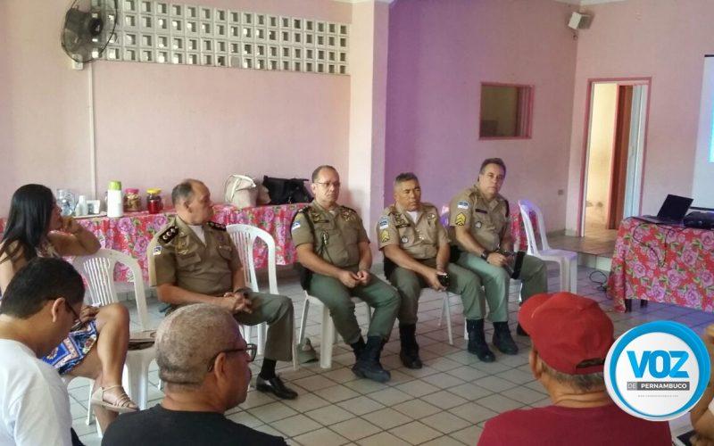 Reunião discutiu a criação do Conselho Comunitário de Segurança de Nazaré da Mata