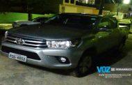 Carro roubado é recuperado em Bom Jardim