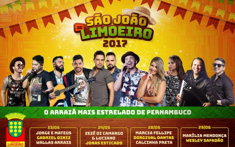 Prefeitura de Limoeiro divulga programação do São João 2017