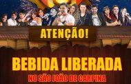 Após pressão, prefeitura e patrocinador cedem e bebidas quentes estão liberadas no São João em Carpina