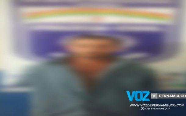 Fugitivo de cadeia pública de da Paraíba é capturado em Goiana-PE