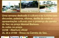 5ª Jornada da Cultura e do turismo acontece em Lagoa do Carro