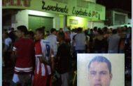 Homem foi assassinado na noite deste domingo (20) em Lagoa do Carro