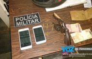 Arma de fogo e celulares roubados são apreendidos com homem em Lagoa de Itaenga