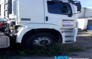 Carreta roubada em Alagoas é recuperada em Paudalho
