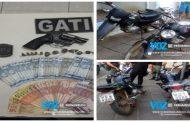 Dono de bar é detido com arma, drogas e moto roubada em Macaparana
