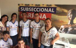 Na VI feira de Profissões, OAB oferta apoio para estudantes em Carpina