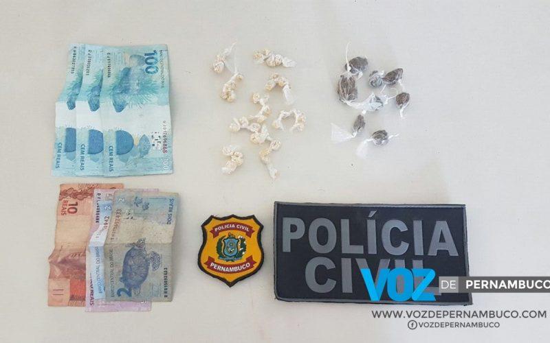 Adolescente é detido por Tráfico de Drogas em Timbaúba