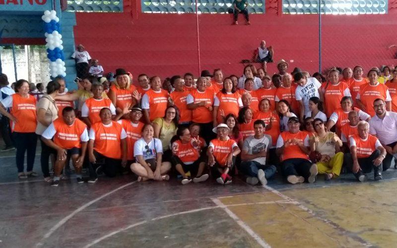 Jogos Solidários da Terceira Idade foram realizados em Carpina