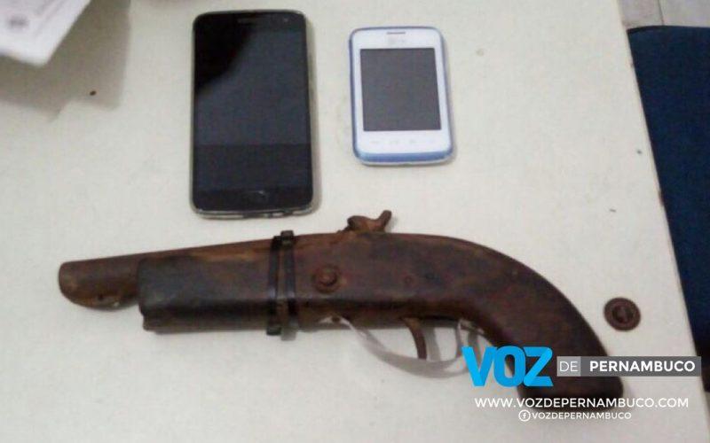 Assaltantes são detidos em Goiana