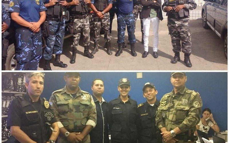 Guarda Municipal de Tracunhaém participa de evento em Ipojuca