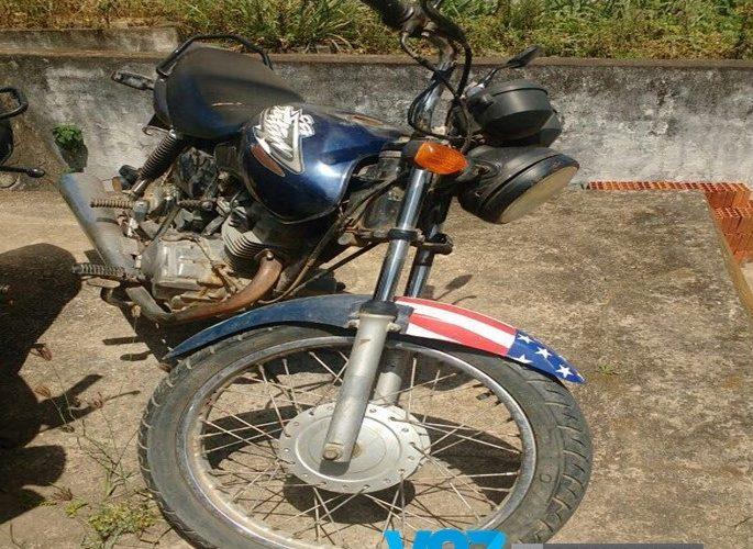 Polícia Civil de São Vicente Ferrer recupera moto roubada