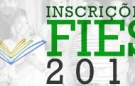 Abertas as inscrições para o Fies 2018