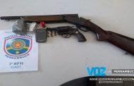 Jovens são detidos com armas, drogas e moto roubada em Carpina
