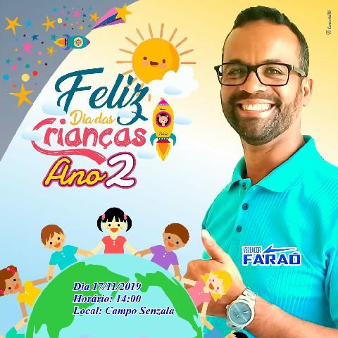 Vereador Faraó realiza festa para as crianças neste domingo (17) em Carpina - Voz de Pernambuco