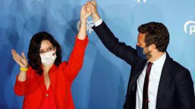 Elecciones Madrid: Ayuso encumbra a una nueva derecha y pone en apuros a  Sánchez