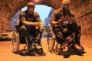 rap na invalidnom vozíku